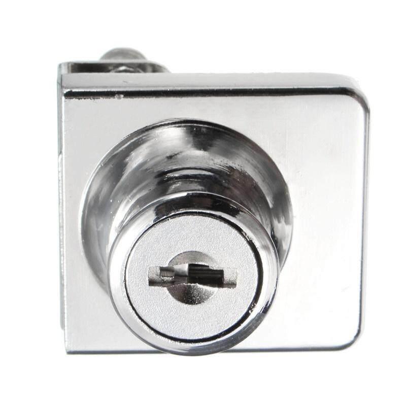 Single Glass Cabinet Door Keyed Lock Tone Cam Key Showcase Locking 2 Keys