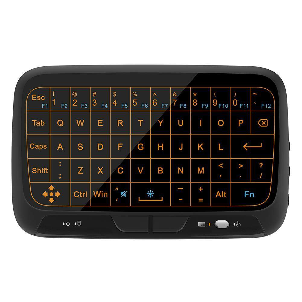 a5ed0f9b1a8 H18 2.4Ghz Backlight Full Touchpad Mini Wireless Keyboard Mouse for TV Box  Singapore
