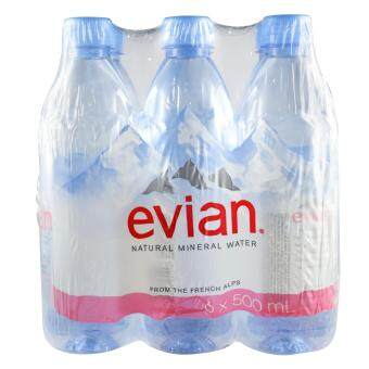 Harga Evian Mineral Water Prestige Multipack 6 x 500ml - France