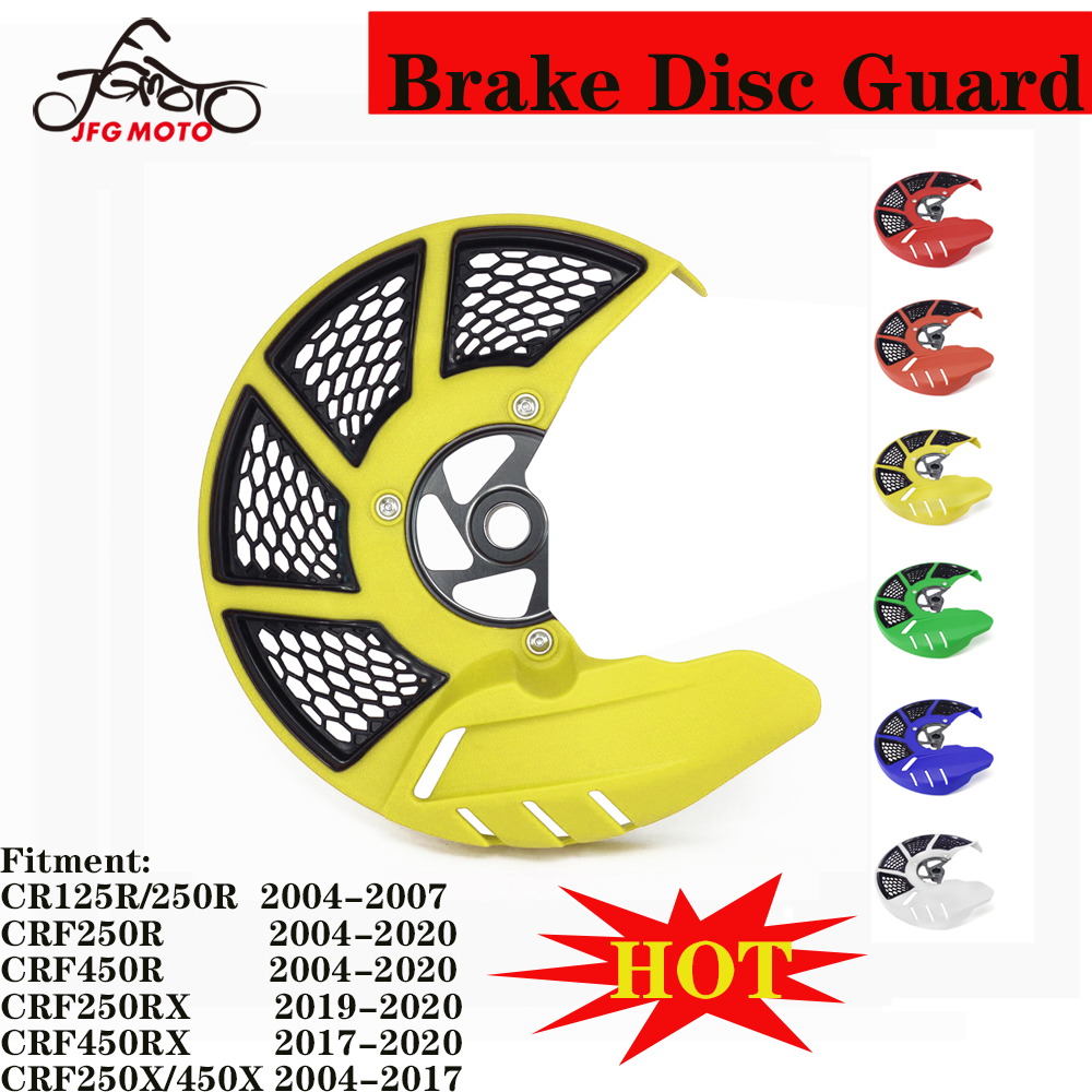 Front Brake Disc Gaurd Cover For Honda CR125R CR250R 04-07 CRF250R CRF450R 04-20