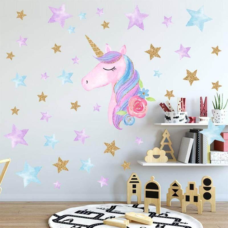 30+ Ide Stiker Dinding Kamar Unicorn - Aneka Stiker Keren