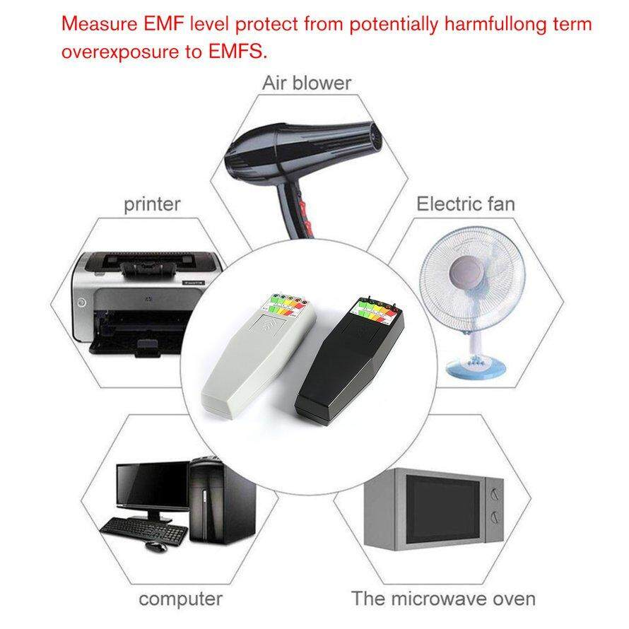 K2 Electromagnetic Field EMF Gauss Meter Portable EMF Magnetic Field Detector *