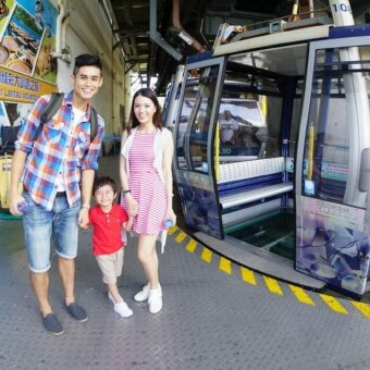 Harga Hong Kong Ngong Ping 360-2Ways Standard Cable Car (Child)