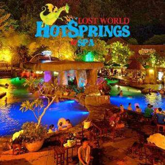 Ipoh: Lost World of Tambun Theme park + Hot spring Entrance Ticket (Senior Citizen)