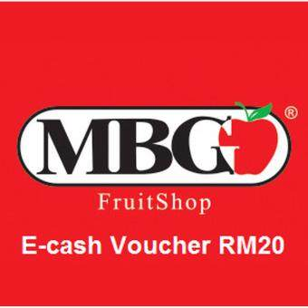 MBG Fruit Shop E-Cash Voucher RM50