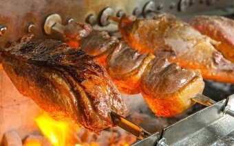 Samba Brazilian Steakhouse (Avenue K) Churrascaria-style DinnerBuffet for 4 People - 2