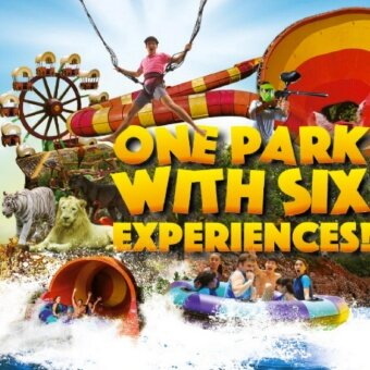 Sunway Lagoon + Meal Voucher -Non Malaysian (Adult)