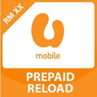 U Mobile RM 25 Direct-to-Phone Reload (Mobile Top Up)