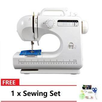506 Pro Sewing Machine With 12 Sewing Options (Black) FREE Sewing Set