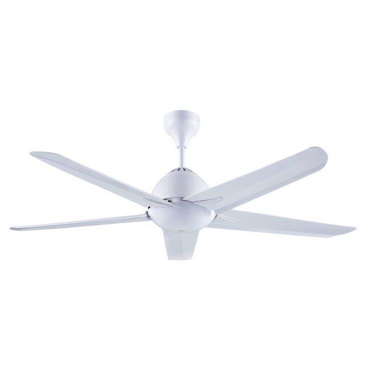 Alpha Baby Ceiling Fan 42 5 Blade Speed Remote Af20 5b White
