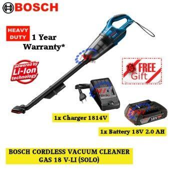 Bosch GAS 18V-Li 18V Cordless Vacuum Cleaner FREE B.Charger(1814/2.0AH)