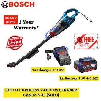 Bosch GAS 18V-Li 18V Cordless Vacuum Cleaner FREE B.Charger(1814/4.0AH)
