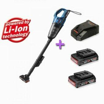 Bosch Gas 18v Li 2 Cordless Vacuum Cleaner 2 Batteries