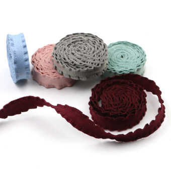 Color lace edge diy handmade ribbon embroidery table cloth curtain sofa fabric decoration material costume jewelry