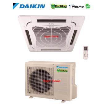 Daikin 2.0hp Eco King Ceiling Cassette Type Air Conditioner FCN20FV1 & RN20CV1 (R410A) - Non Inverter - Air Surround Series