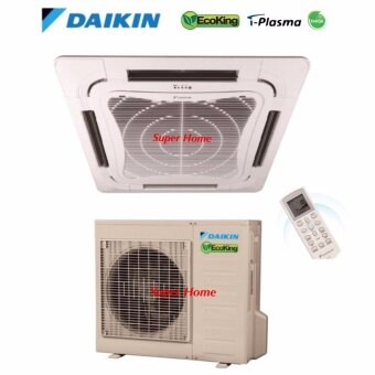 Daikin 2.5hp Eco King Ceiling Cassette Type Air Conditioner FCN25FV1 & RN25CV1 (R410A) - Non Inverter - Air Surround Series