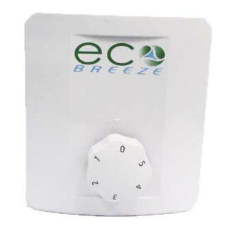 Eco Breeze Ceiling Fan Regulator (White, Black, Silver, Golden)