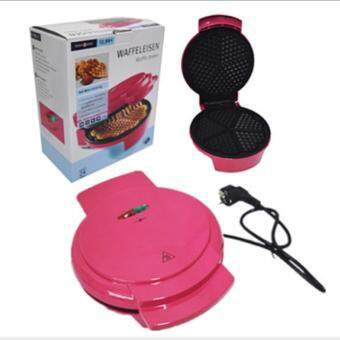 Freemarket High Quality 900 Watt Waffle Maker - Pink