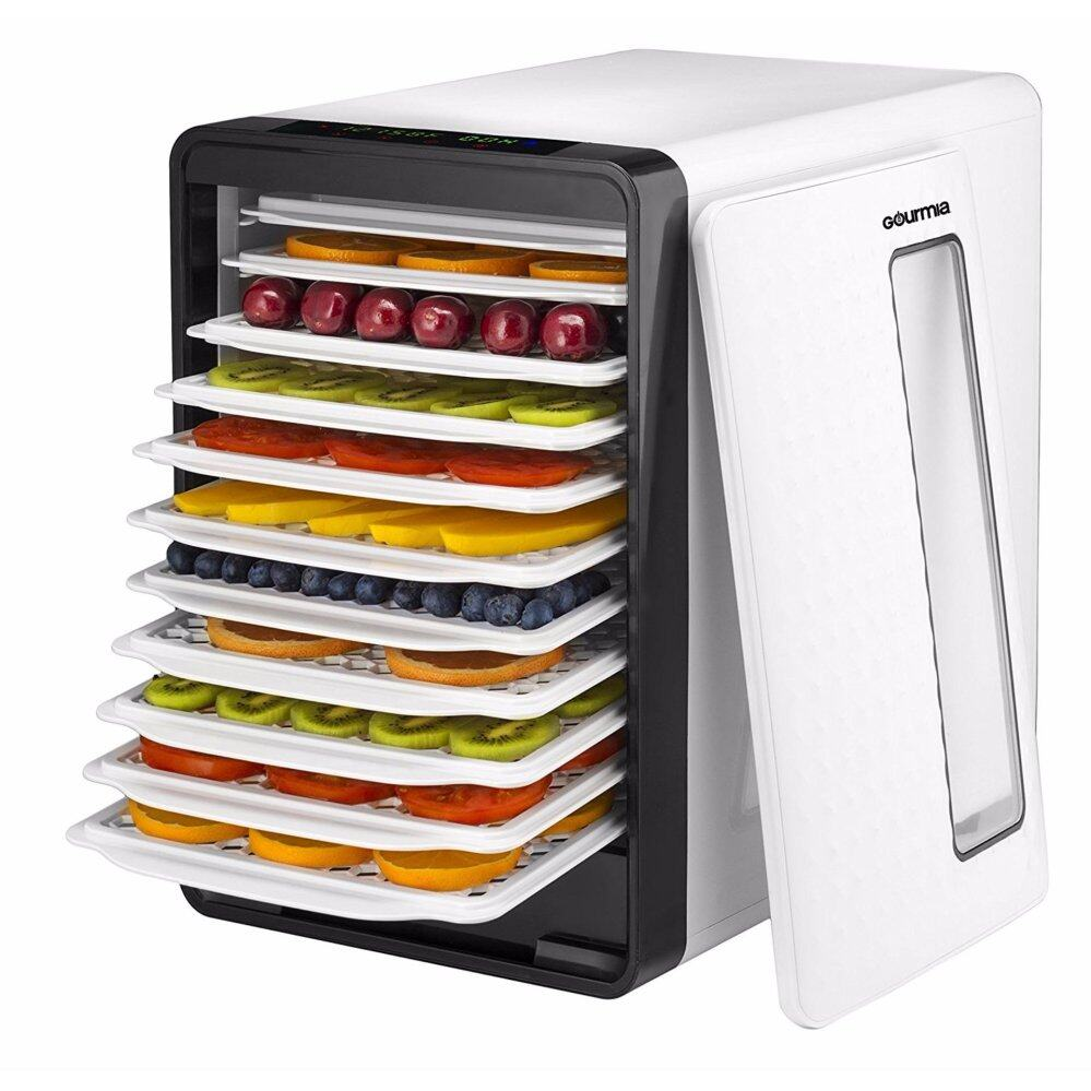 Jualan kilat gourmia gfd1850 food dehydrator with touch digital gourmia gfd1850 food dehydrator with touch digital temperaturecontrol ten drying trays plus beef jerky forumfinder Choice Image