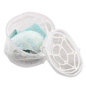Happy Gifts New Lingerie Pink Underwear Bra Sock Laundry WashingAid Net Mesh Zip Bag High Quality