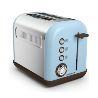 Harga Morphy Richards Toaster 222003 Special Edition Accents Azure 2 Slice Toaster