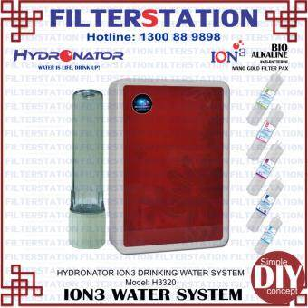 Harga HYDRONATOR ION3 SYSTEM H3320 drinking system water filter water dispenser water purifier