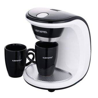 Harga ELBSTAFFEL Coffee Maker BNB-450W 2Cups Gift Coffee machine Coffee pot/ Coffee bean Drip Coffee coffee grinder