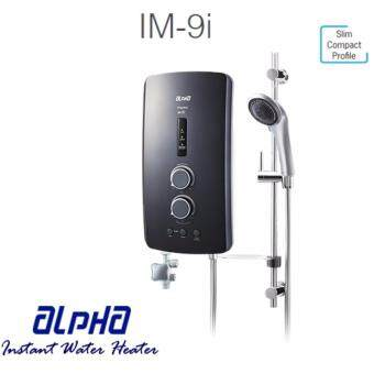 Harga Alpha Instant Water Heater with DC PUMP Impress IM-9i Metal Black (Home Shower)