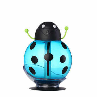 Harga Nanum HB-005 Aroma Therapy Oil Diffuser Ultrasonic Mist Portable Beetle Mini Air Purifier Humidifier (Blue)