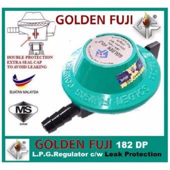 Harga GF-128DP L.P.Gas Regulator c/w Leak Protection (Green)