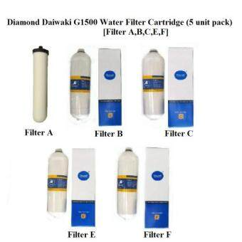 Harga Daiwaki Diamond G1500 Water Filter Cartridge (5 Cartridge Set)