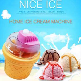 Harga Alpha Living DIY Nice Ice Cream Machine Home Electric Ice cream Maker