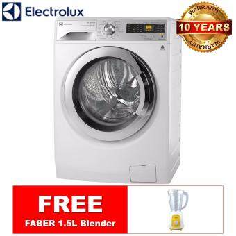 Harga (ALL NEW) ELECTROLUX 9KG / 6KG Inverter Washer Dryer EWW12932 *FREE FABER Blender