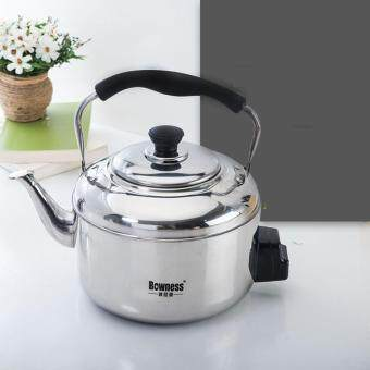 Harga Thicker Electric Kettle Domestic Boiler Water Stainless Steel Electric Kettle Breath Kettle Freezer Electric Kettle Large Capacity 4L