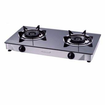 Harga MORGAN Glass Gas Stove MGS-8312G (Black)
