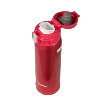 Harga ZOJIRUSHI 480ML S/S ONE-TOUCH MUG - SM-SA-48-RW (CLEAR RED)
