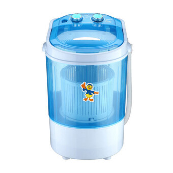 Harga Yoko XPB45-288 Semi Automatic Mini Washing Machine 4.5kg - Blue