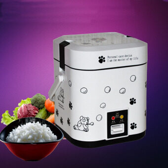 Harga 1.2L Mini Rice Cooker Portable Rice Cookers-White
