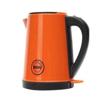Harga BSW Color Stainless Steel Kettle Orange Color BS-1415-KS2