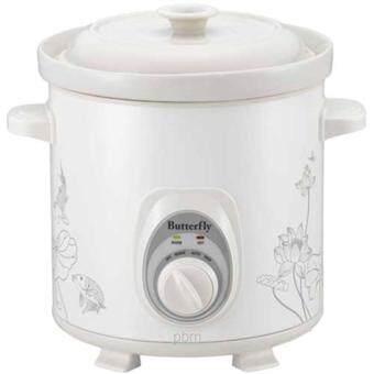 Harga Butterfly 5.5 Litre Slow Cooker BSC-55C (White)