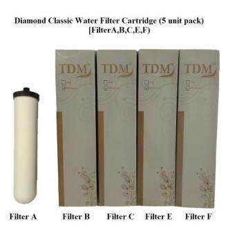 Harga Diamond Classic Water Filter Cartridge Set (5 Cartridge Set)