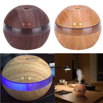 Harga Air Aroma Essential Oil Diffuser LED Ultrasonic Aroma Aromatherapy Humidifier Black