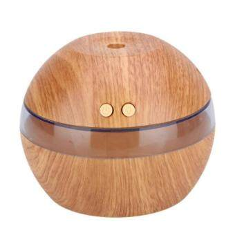 Harga Air Aroma Essential Oil Diffuser Led Ultrasonic Aroma Aromatherapyhumidifier Light Wooden Color