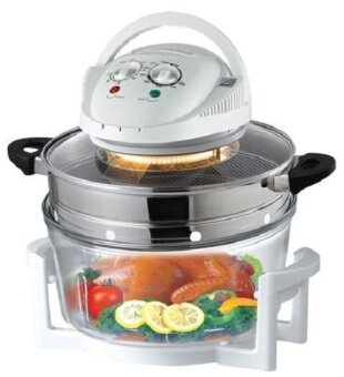 Harga Multifunction Halogen Oven 12L with Air Fryer Extension Ring