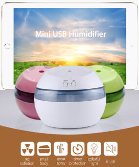 Harga DC 5V Ultrasonic Air Aroma Humidifier Color LED Lights Electric Aromatherapy Essential Oil Aroma Diffuser