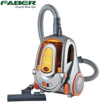 Harga Faber Italy 2000W Bagless Cyclone Vacuum Cleaner FVC FORTE 2000 with 1 Year Warranty