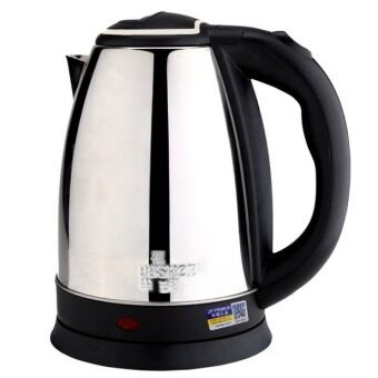 Harga Original PESKOE Mastar Stainless Steel Kettle 1.5Litres Electric Kettles Just 5 Minutes