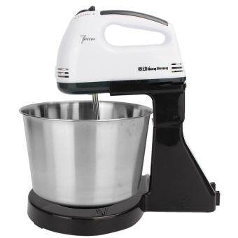 Harga 220V 7 Speed Electric Stand Mixer Hand Countertop Kitchen Homemade Cakes Muffins white