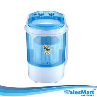 Harga Wales Hardware Household 4.5KG Semi Automatic Mini Washing Machine