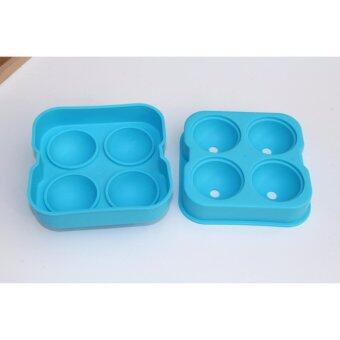 Harga JinGle whiskey Silicon Ice Cube Ball Maker Mold Sphere Mould BrickParty Tray Round Bar
